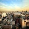 Na początek jak w piosence - One Night in Bangkok. Tak wyglądał poranek za oknem. Hotel w chińskiej dzielnicy (Grand China Hotel ***), piętro 16. Rewelacyjne śniadania!!!