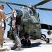 Szturmowy Mi-24. Nagrywamy. Tutaj mówią na nich - śmiglaki na helipadzie.