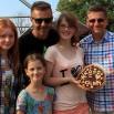 A to torcik wraz z autorkami wręczony tuż przed koncertem w Olsztynie. Dobry był!