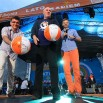 Każdy artysta na scenie Lata z Radiem musi wyprodukować piłkę szczęścia. Ryszard Rynkowski zrobił to w tym roku w Wieluniu.