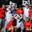 O zabawę dbały też ekipy naszych partnerów. Strategicznym sponsorem trasy była Kawa Prima. A Cyfra Plus przyprowadziła ze sobą lemury.