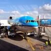 Ale kolejno... Na Kubę z Europy leci się minimum 11-12 godzin. My wybraliśmy holenderski KLM. Dla fanów lotnictwa ciekawostka - na tej trasie pracują ostatnie MD-11. I są w całkiem dobrym stanie.  KLM lata przez Dominikanę z postojem na Punta Cana. Czyli w sumie wychodzi 14 godzin. Brrr...