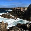 Tak wygląda koniec świata czyli najbardziej wysunięty na zachód cypel wyspy mgieł (Creac'h).
