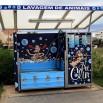 Są tu i takie cuda. Co to? Maszyna do... mycia psów i kotów! Stała obok myjni samochodowej. Made in France choć znaleziona koło Lizbony.