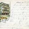 Litografia ze Szczecina (Stettin) - 21 stycznia 1898 roku.