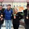 Tu pamiątkowa fotka przed rozpoczęciem programu w Jaśle. Obok mnie m.in. Sława Bieńczycka i Bogdan Sawicki.