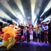 Kulminacyjny moment każdego z koncertów - gra o wielką maskotkę - Jeża Lata z Radiem 2011 - Świnoujście