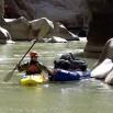A to Eugene Buchanan. Pływał najtrudniejszymi rzekami świata na wszystkich kontynentach.