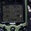 GPS pokazuje lokalizację i wysokość przy tej mumii - 3760m npm.