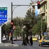 Poranek na ulicy w Damaszku.