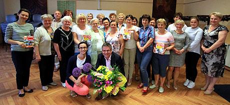 Spotkanie z czytelnikami w Białej Rawskiej. 2 czerwca 2016.
