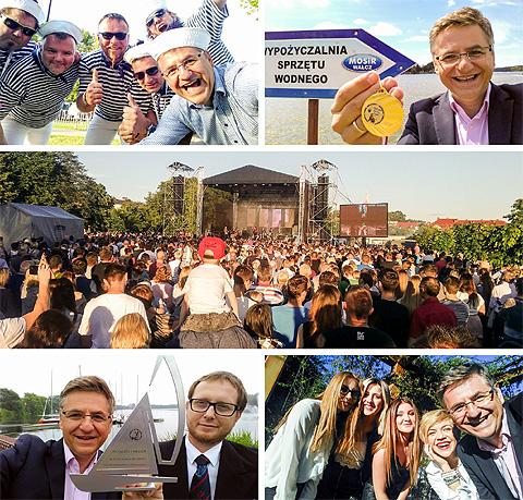 Drugi Festiwal Dwóch Jezior w Wałczu. Lady Pank, Majtki Bosmana, ESTI, Ola Adriukajtis, DJ Adamus, Roman Czejarek.