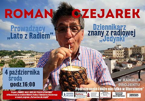 Spotkanie w Bibliotece w Barcinie. Środa 4 października. Godzina 16.00. Roman Czejarek serdecznie zapraszam.