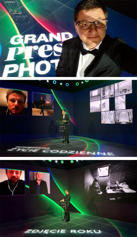 Gala finałowa Grand Press Photo 2020 online. Udało się! Wielkie brawa dla Redakcji Press oraz Fundacji Grand Press Photo za upór i konsekwencję. Warto było. Studio M-sound Multimedia, 13 maja 2020. Prowadzący Roman Czejarek
