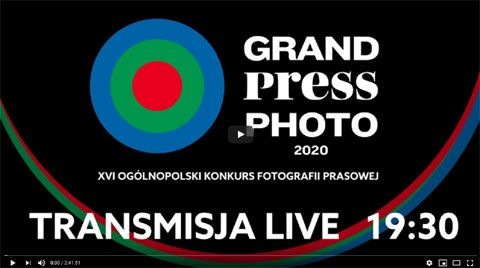 Gala finałowa Grand Press Photo 2020 online.