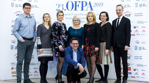 Ogólnopolski Festiwal Piosenki Artystycznej OFPA 2019 w Rybniku. Fundacja PGE Energia Ciepła oraz Teatr Ziemi Rybnickiej.