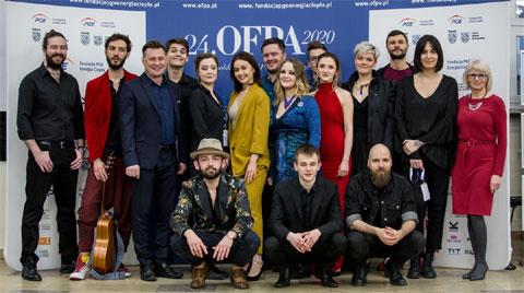 24. OFPA 2020, Ogólnopolski Festiwal Piosenki Artystycznej w Rybniku. Finaliści. Fot. Jarek Lasota.