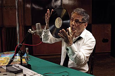 Roman Czejarek, sesja zdjęciowa dla miesięcznika Press, lato 2010, czy ktoś poznaje jaką płytę mam w ręku?