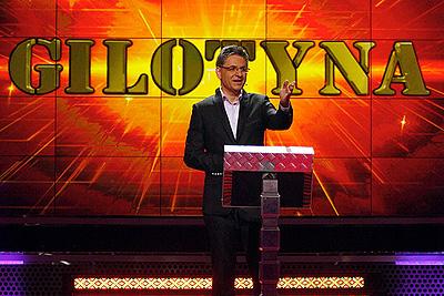 Roman Czejarek i teleturniej Gilotyna, TVP2, pierwsze nagrania, jesień 2009